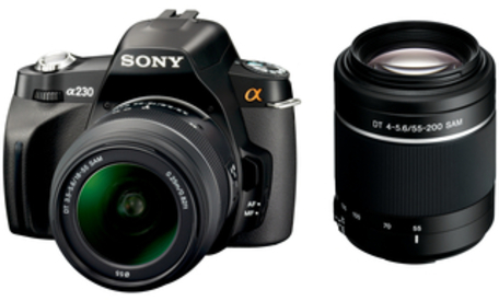 SONY A230 + 18-55 mm + 55-200 mm