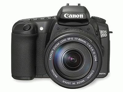 Canon EOS 20D + EF 18-55 mm